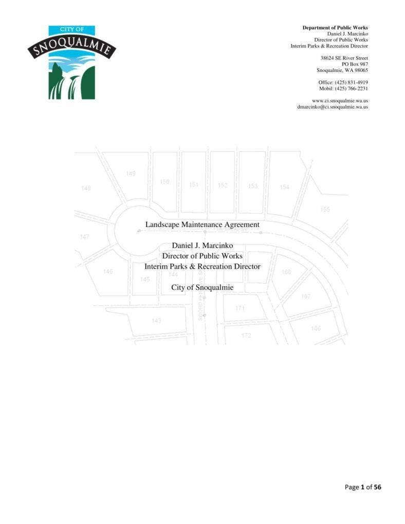 landscape maintenance agreement template 788x1020