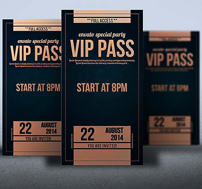 15 vip invitation designs templates psd ai free premium