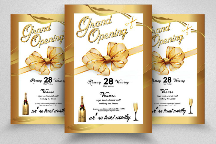 luxurious-grand-opening-flyer-invitation-template