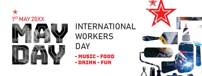 May Day Facebook Event Cover