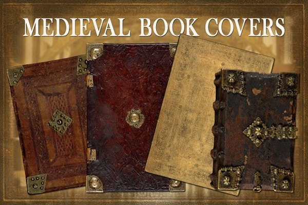 Medieval Book Cover Template