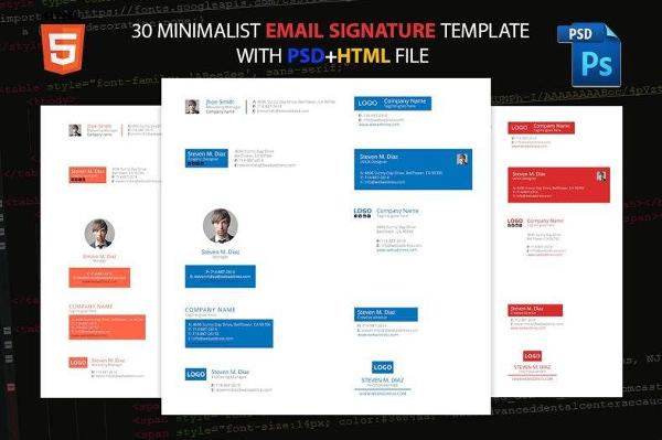 Minimal Email Signature