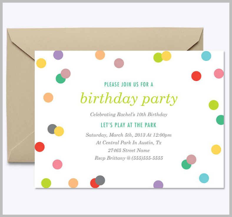 minimalist birthday confetti invitation template 788x737