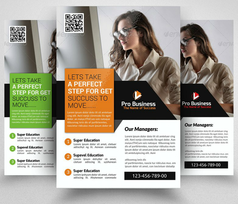Modern Accounting Business Flyer Template