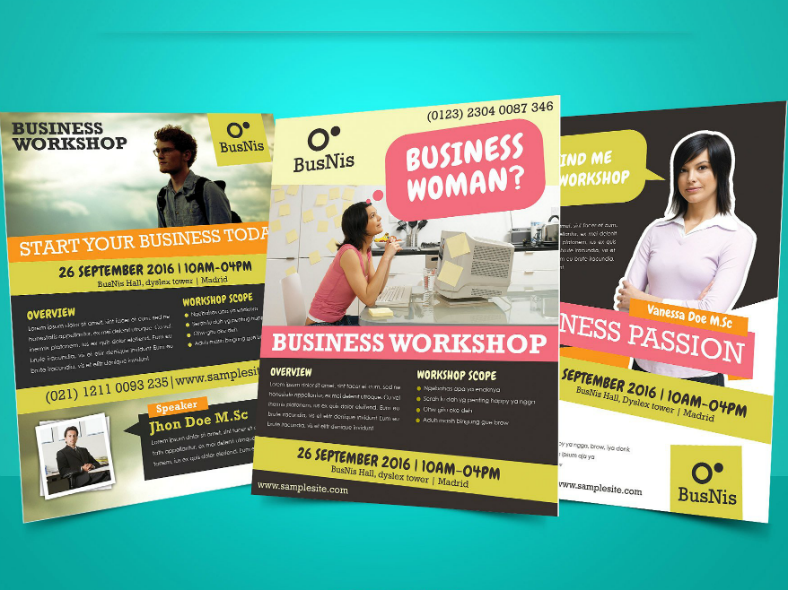 Modern Business Workshop Flyer