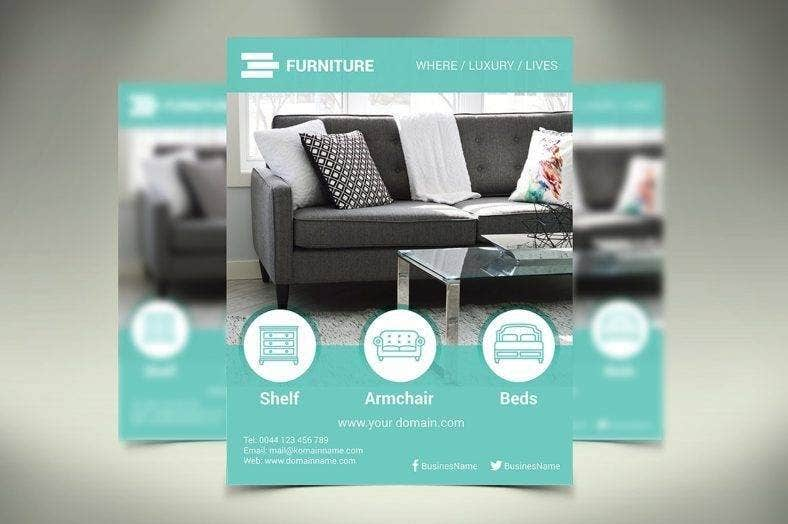 Modern Furniture Flyer