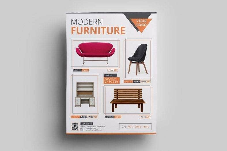 Modern Furniture Sale Flyer
