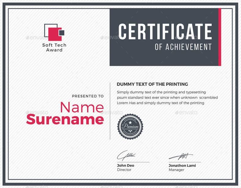 modern multipurpose certificate 788x613