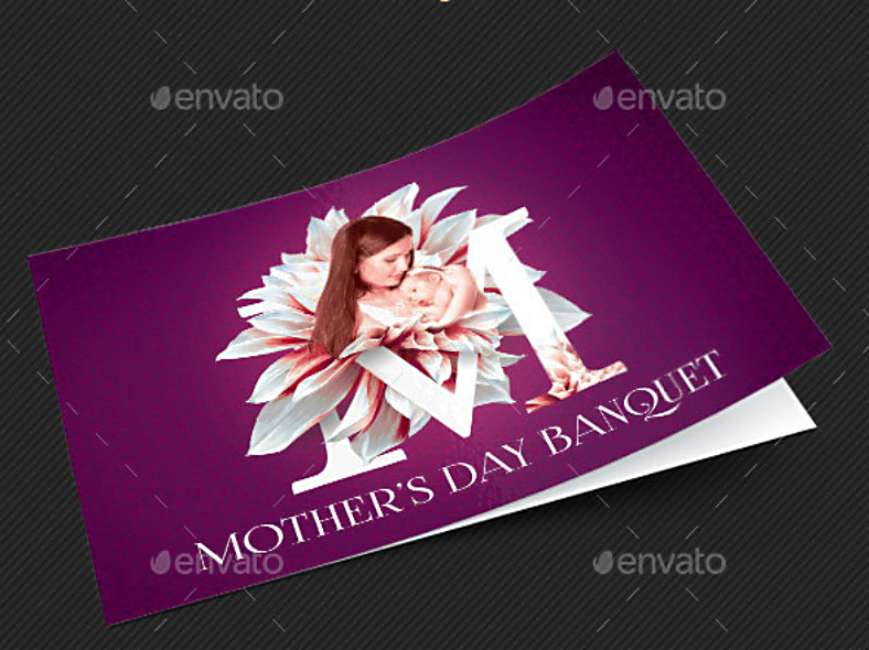 Mother's Day Banquet Invitation Design