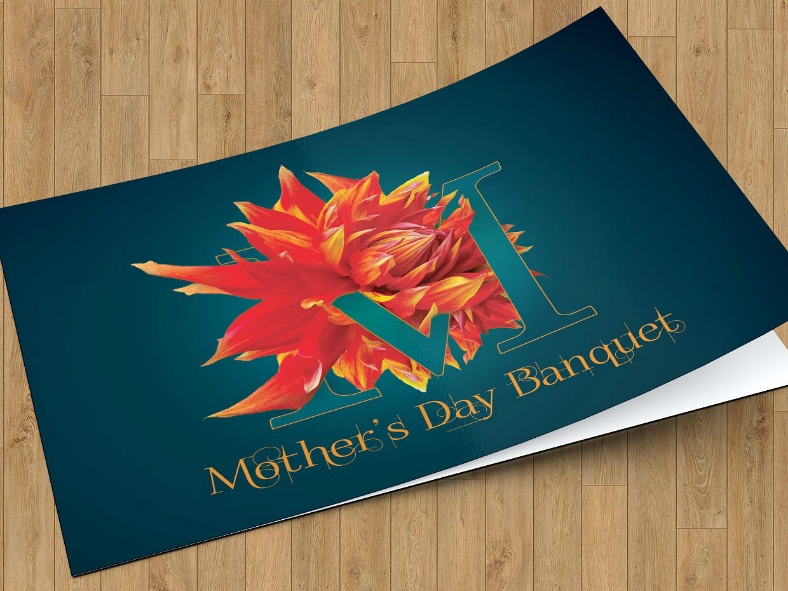 Mother's Day Banquet Invitation Template