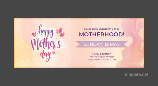 mothers day facebook event cover