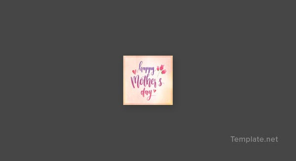 mothers day instagram profile photo template