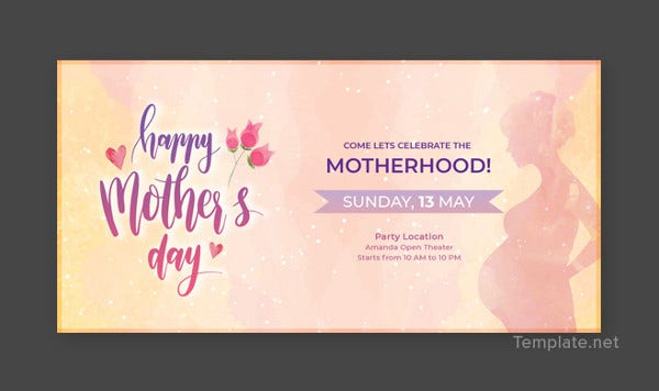 mothers day linkedin profile banner template