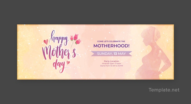 mothers day tumblr banner template