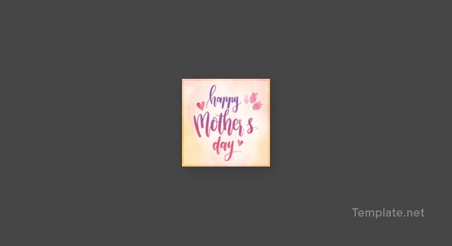 mothers day tumblr profile photo template