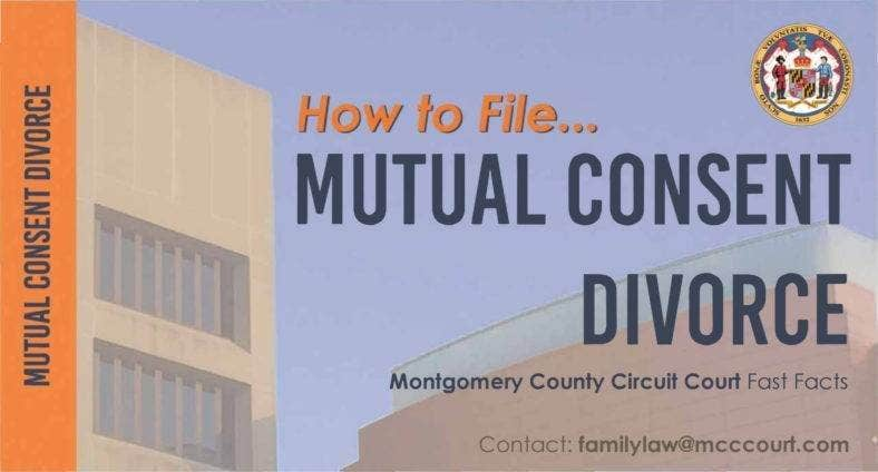 Mutual Consent Divorce Agreement