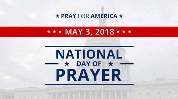 National Day of Prayer Facebook App Cover