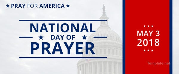 National Day of Prayer Facebook Cover