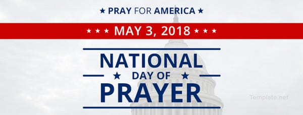 National Day of Prayer Facebook Event Cover