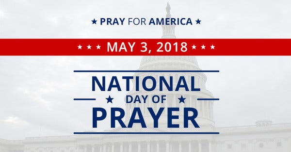 National Day of Prayer Facebook Post