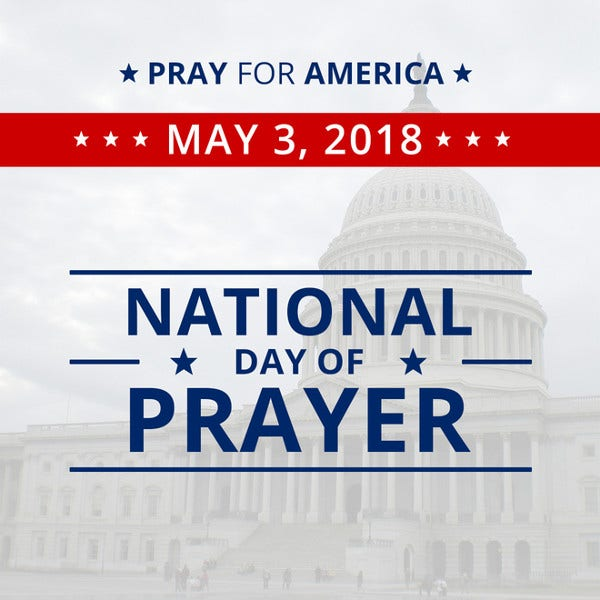 National Day of Prayer Instagram Post