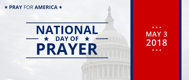 National Day of Prayer LinkedIn Profile Banner