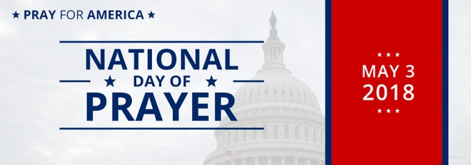 National Day of Prayer Tumblr Banner