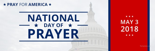 National Day of Prayer Twitter Header Cover