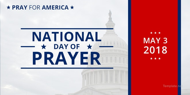 National Day of Prayer Twitter Post