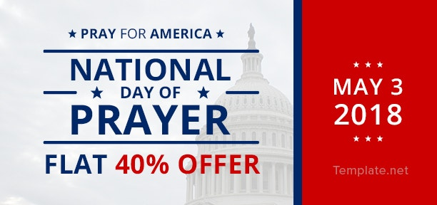 National Day of Prayer Voucher