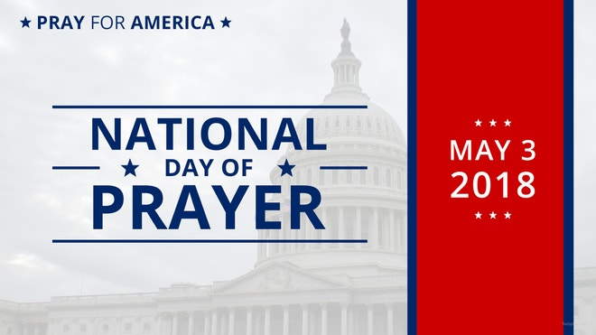National Day of Prayer YouTube Channel Cover