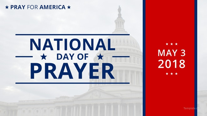National Day of Prayer YouTube Video Thumbnail