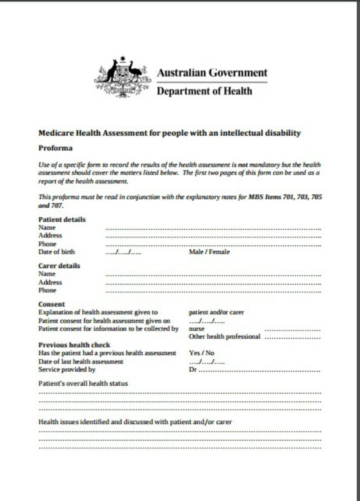 medical assessment for people claiming incapacity benefit ...