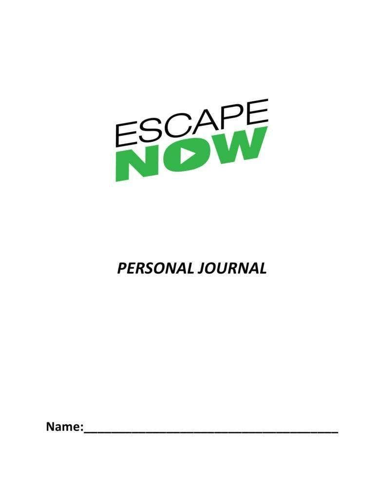 Personal Journal Template Format