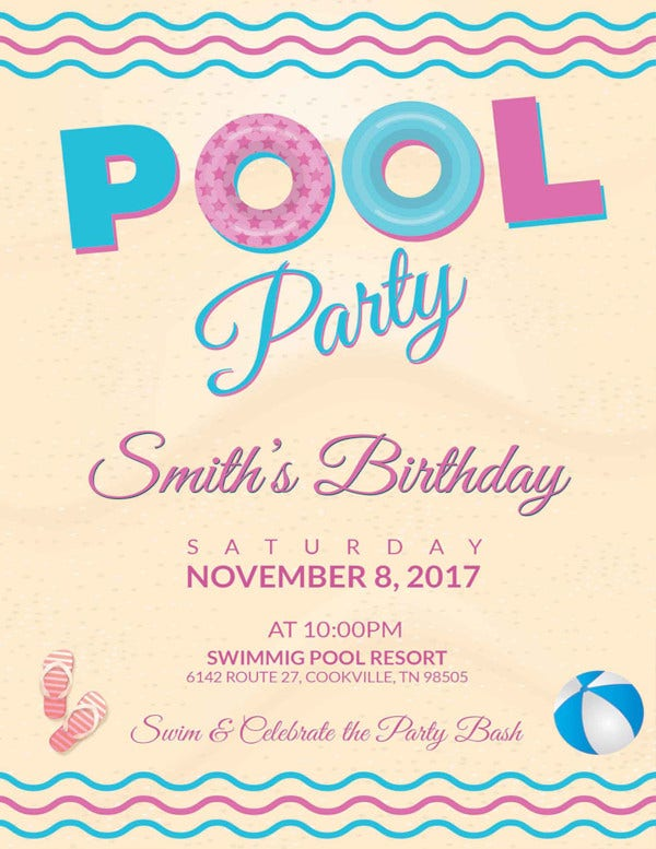 pool-party-birthday-flyer-template