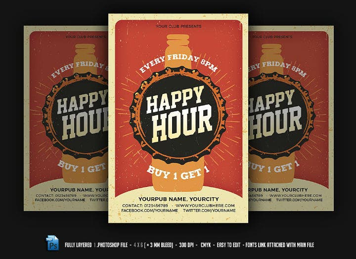 pub-happy-hour-menu-flyer-template