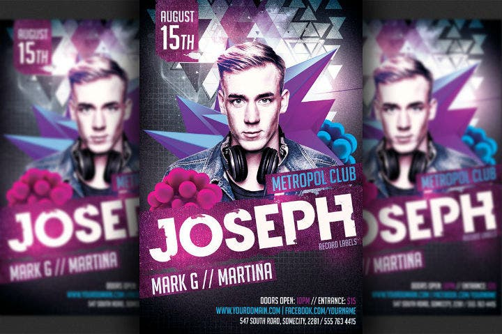 purple-dj-party-flyer-invitation-template
