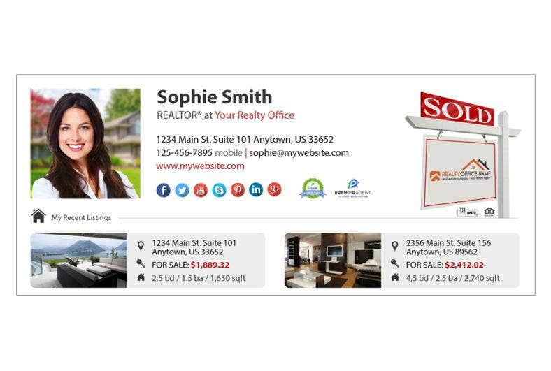 realtor office email signature template 788x531