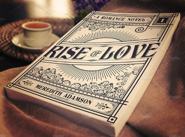 rise of love achromatic love book cover template