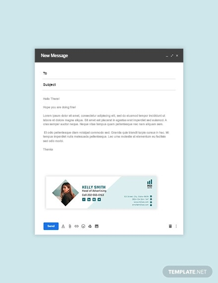 seo email signature template