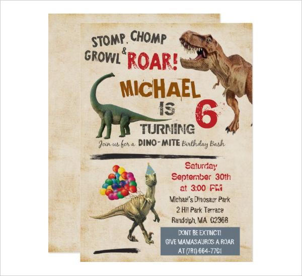 Sample Birthday Party Invitation