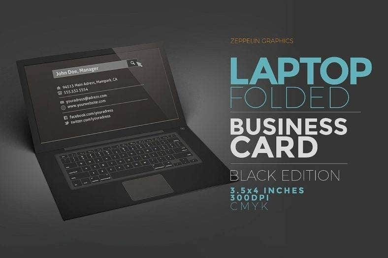 sample folded business card 788x524