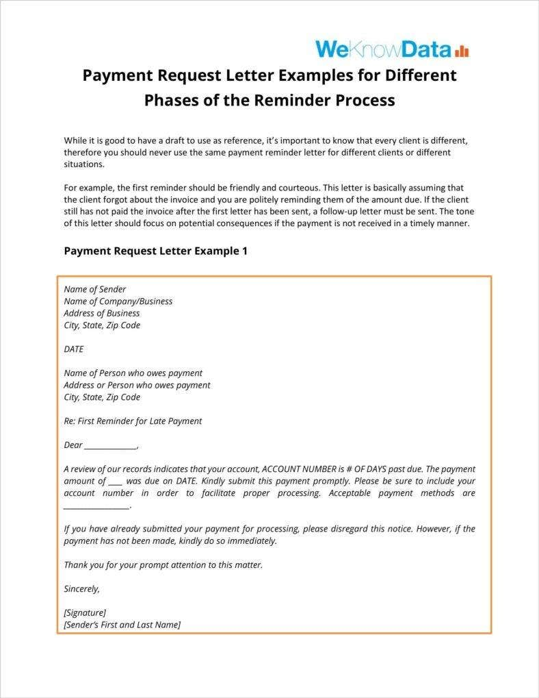 Payment FollowUp Letter Templates PDF Free Premium Templates - Follow up template