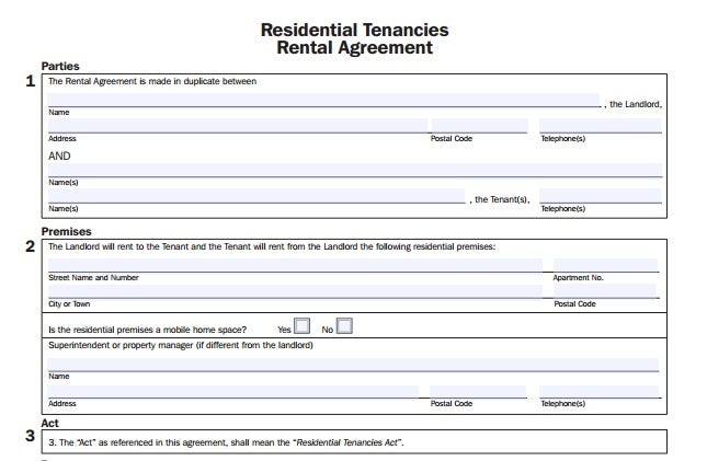 sample-room-rental-template