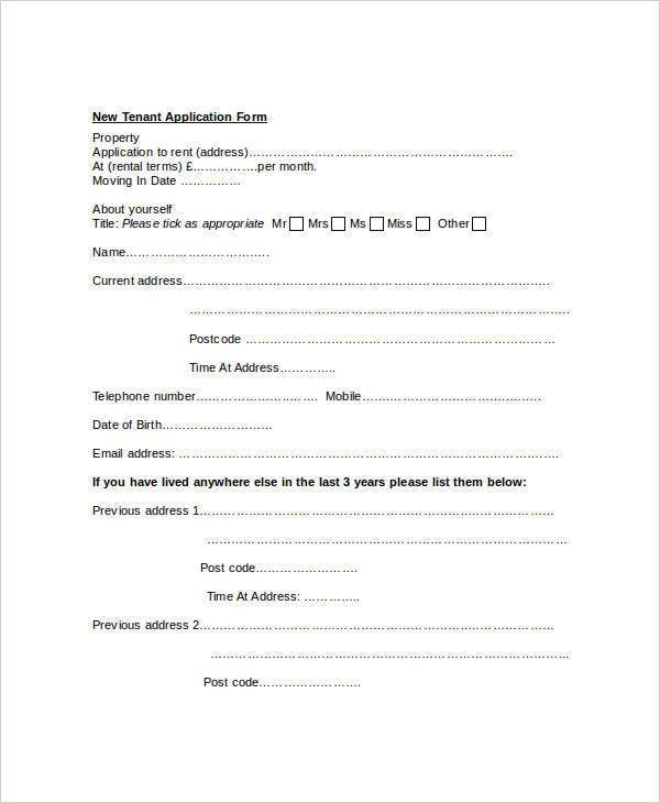 sample-tenant-application-form