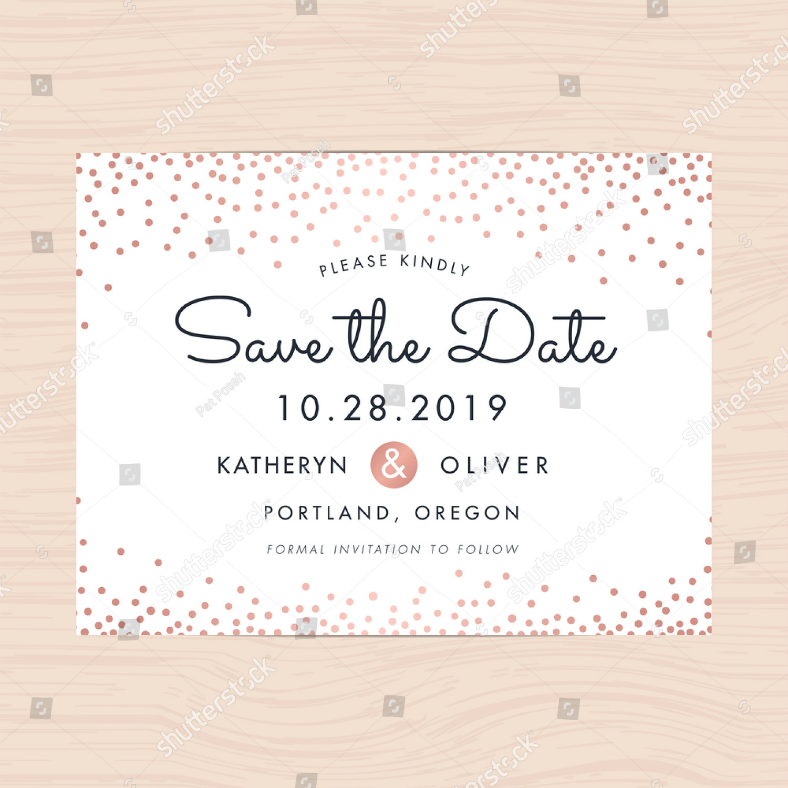 save the date confetti invitation template 788x788
