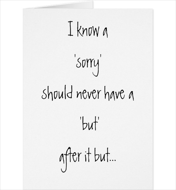 4 Funny Sorry Card Designs Templates Psd Ai Free Premium Templates