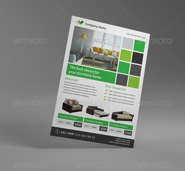 Simple Furniture Flyer