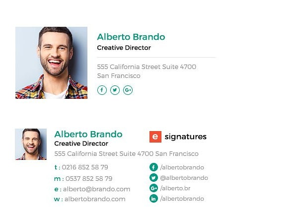 simple-and-minimal-email-signature
