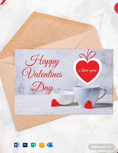 special valentines greeting card
